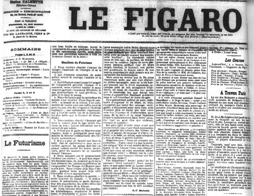 Le Figaro 20th February 1909
